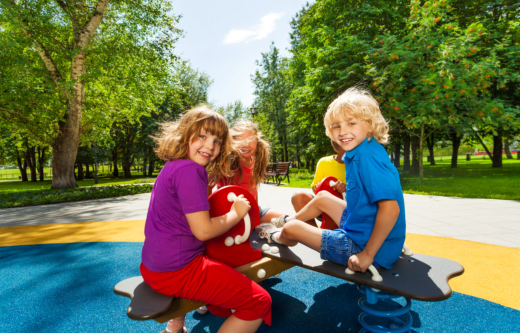 Playgrounds Play a Role in Child Development